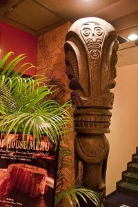 Tiki near the entrance at Trader Vic's in Tokyo