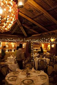 The main dining room at Trader Vic's in Tokyo