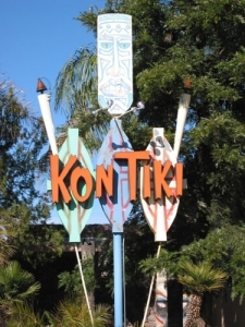 Sign for the Kon Tiki