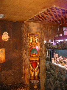 Tiki at the Kon Tiki