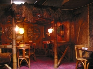 Kon Tiki dining room