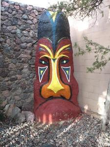 Tiki outside the Kon Tiki Lounge in Tucson