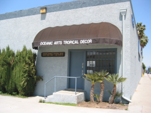 The unassuming exterior of Oceanic Arts