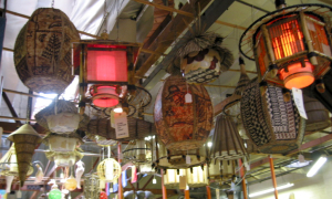 Lamps for sale at Oceanic Arts