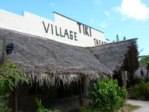 Gift shop at Tiki Village Theater in Moorea