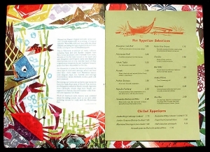 Interior of Mauna Loa menu