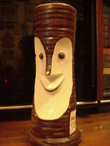 Tiki Bob-style mug from Bali Ha'i at the Beach in New Orleans