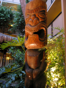 Tiki at the Red Lion Hanalei Hotel in San Diego