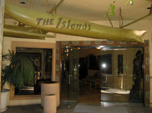 Entrance to the Islands Restaurant in San Diego