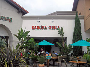 Exterior of Kahuna Grill in Goleta