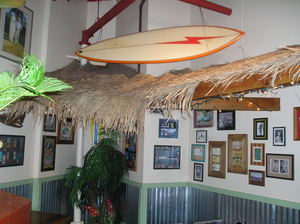 Interior at Kahuna Grill in Goleta