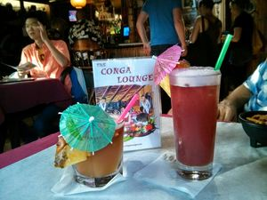 Drinks at The Conga Lounge in Oakland