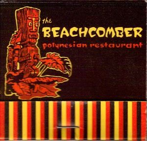 Matchbook from The Beachcomber in Edmonton