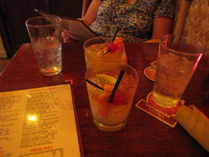 Mai Tais at Hula's Island Grill & Tiki Room in Monterey