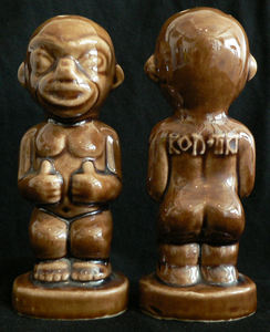 Salt and pepper shakers from Kon-Tiki in Portland
