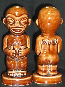Salt and pepper shakers from Kon-Tiki in Cleveland