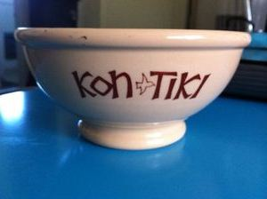 Bowl from Kon-Tiki in Cleveland