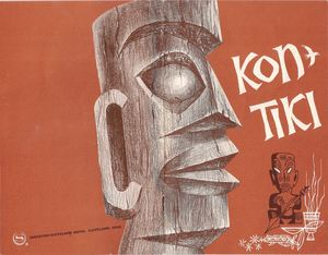 Souvenir menu from from Kon-Tiki in Cleveland