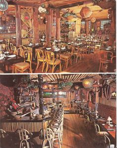 Double postcard from Don the Beachcomber in Chicago