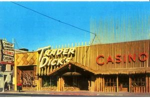 Postcard from Trader Dick's in Sparks