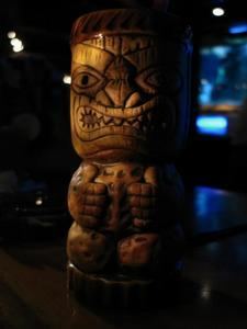 Tiki mug at Trader Dick's