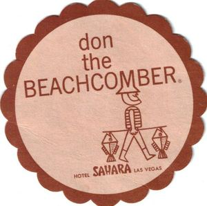 Coaster from Don the Beachcomber in Las Vegas
