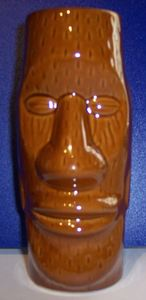 Tiki mug from Hu Ke Lau in Chicopee
