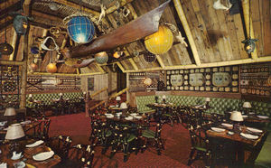 Postcard from Trader Vic's in Boston