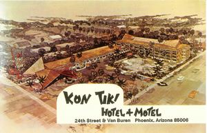 Postcard from Kon Tiki Hotel in Phoenix
