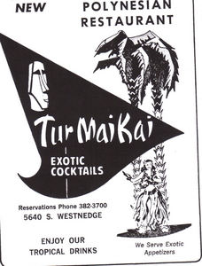 Newspaper ad from Tur Mai Kai in Kalamazoo