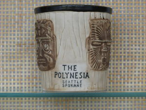 Bucket mug from The Polynesia in Spokane