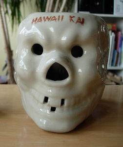 Skull mug from  Hawaii Kai in New York