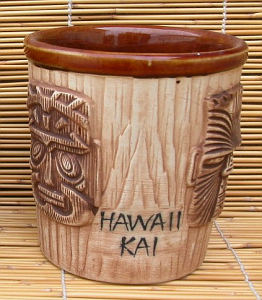 3-face bucket mug from the Hawaii Kai