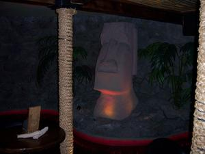 Moai at Drift Lounge in Scottsdale