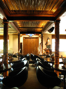 Interior of Drift Lounge in Scottsdale