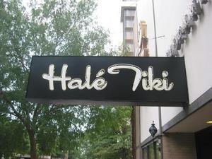 Sign at Hale Tiki