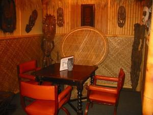 Seating at Hale Tiki