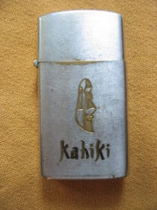 Lighter from Kahiki Supper Club in Columbus