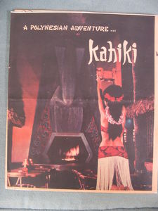 Newspaper insert for Kahiki Supper Club, from <i>The Columbus Dispatch</i>