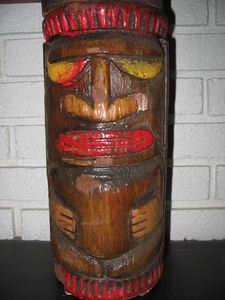 Small tiki from Kahiki Supper Club in Columbus