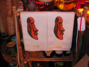 Hand towels from Kahiki Supper Club in Columbus