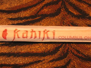 Chopsticks from Kahiki Supper Club in Columbus