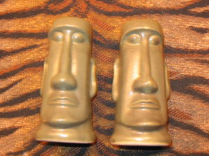 Salt and pepper shakers from Kahiki Supper Club in Columbus