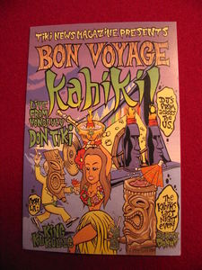 Advertisement for Bon Voyage Kahiki, the last night of Kahiki Supper Club in Columbus