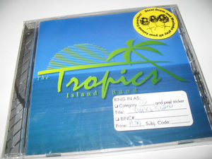 CD from The Tropics Island Band, the house band at Kahiki Supper Club in Columbus