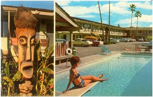 Postcard from Tropics Motel in Modesto
