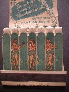 Matches from Honolulu Harry's Waikiki in Chicago