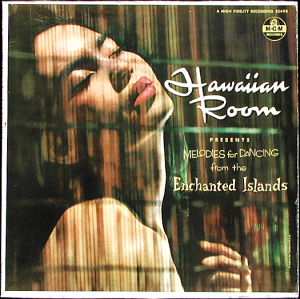 Cover of an album from the Hawaiian Room in New York
