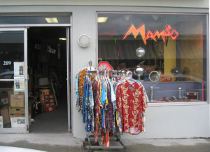 Front entrance to Mambo