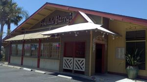 Exterior of Honolulu Harry's in Chino